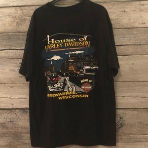 Harley-Davidson Shirts - Harley-Davidson Men's Vintage T-Shirt Size L